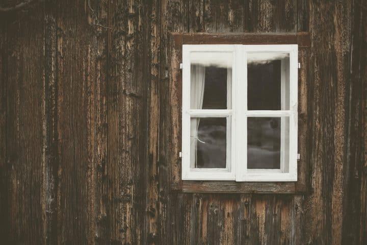 Utæt vindue på grund af slidt gummiliste?