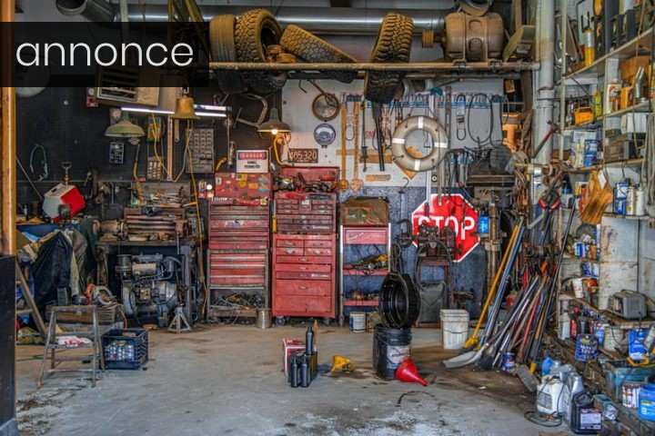 Sådan gør du garagen flot og struktureret